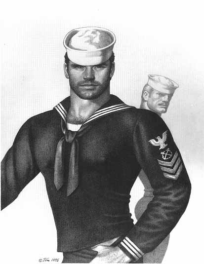 Tom of Finland by Touko Laaksonen.