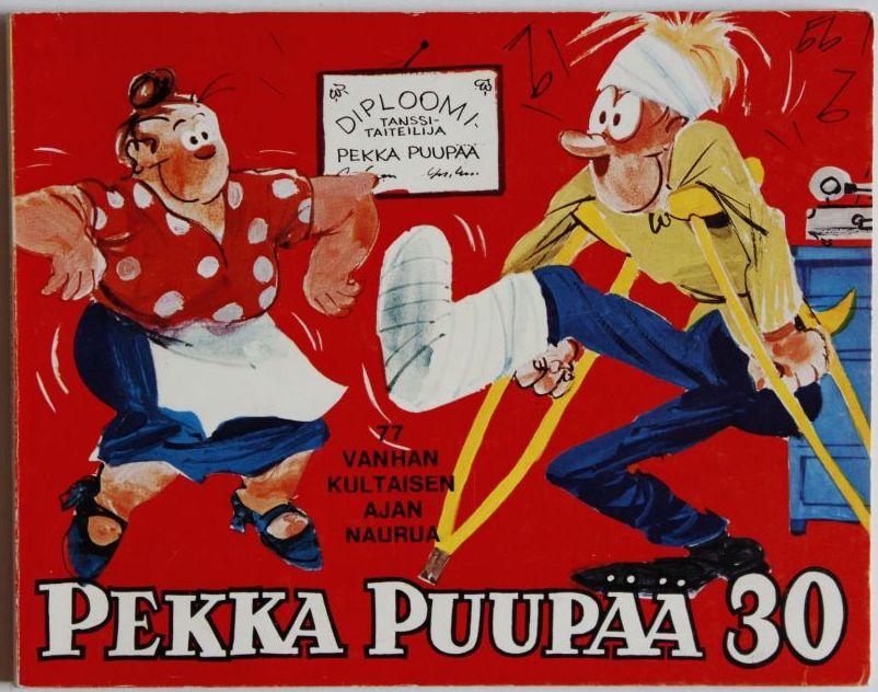 Pekka Puupää by Ola Fogelberg.