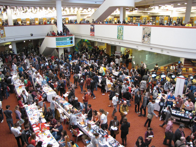 Festival Crowds at Toronto Comics Arts Festival