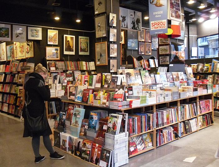 Belgian Comic Strip Center in Brussels