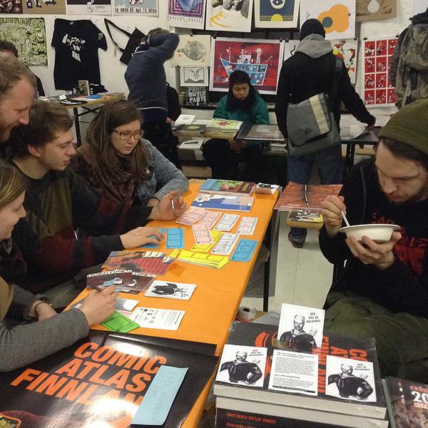 millionaires club comics sarjakuva workshop