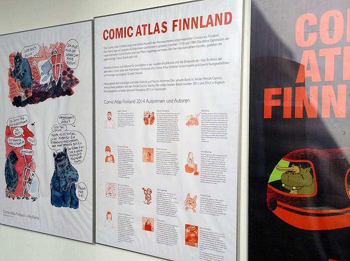 comic atlas finnland finnish comics